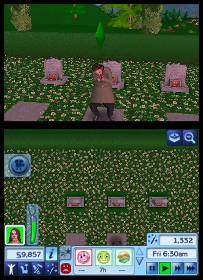 The Sims 3 3DS - Sims in tre dimensioni