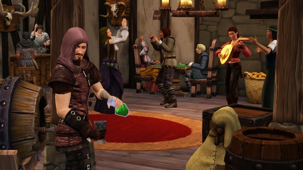 The Sims Medieval - Madame e messeri