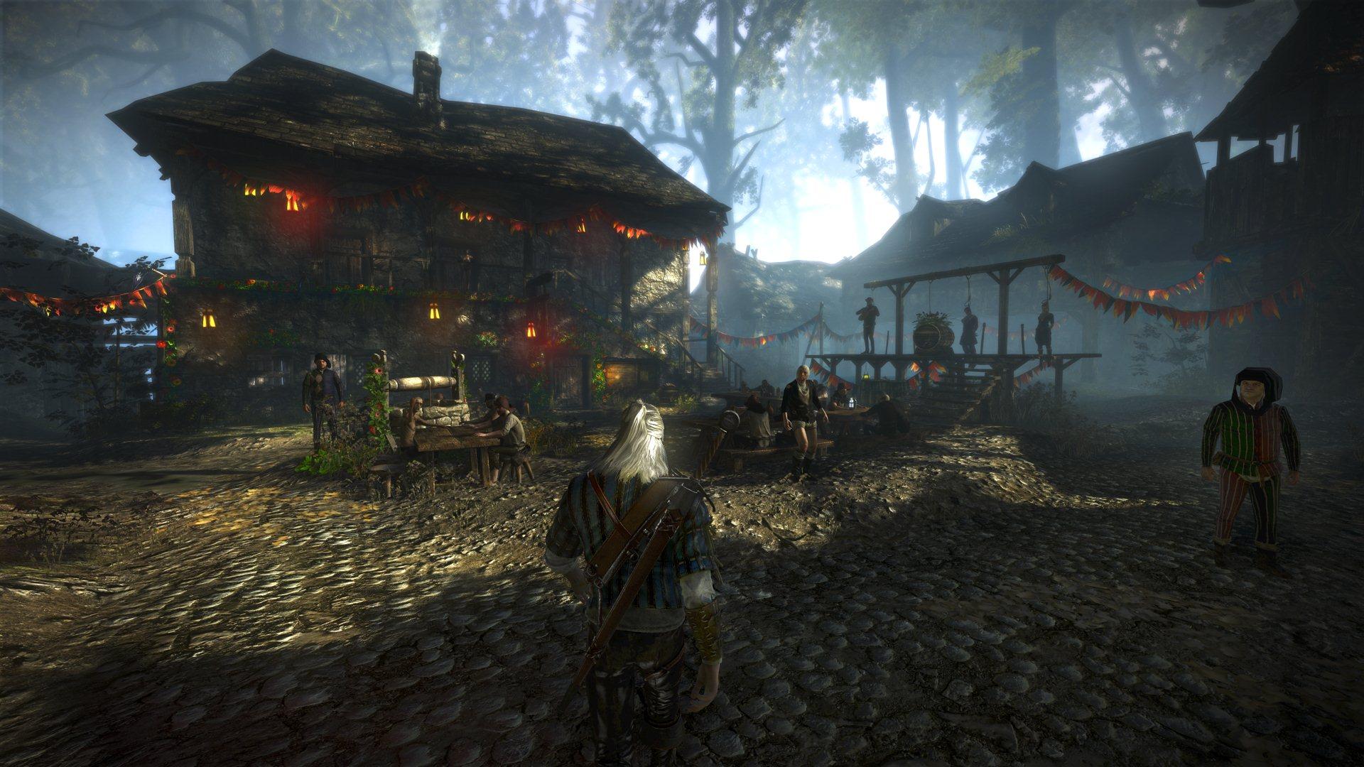 The Witcher 2 - Protagonisti e ambientazioni