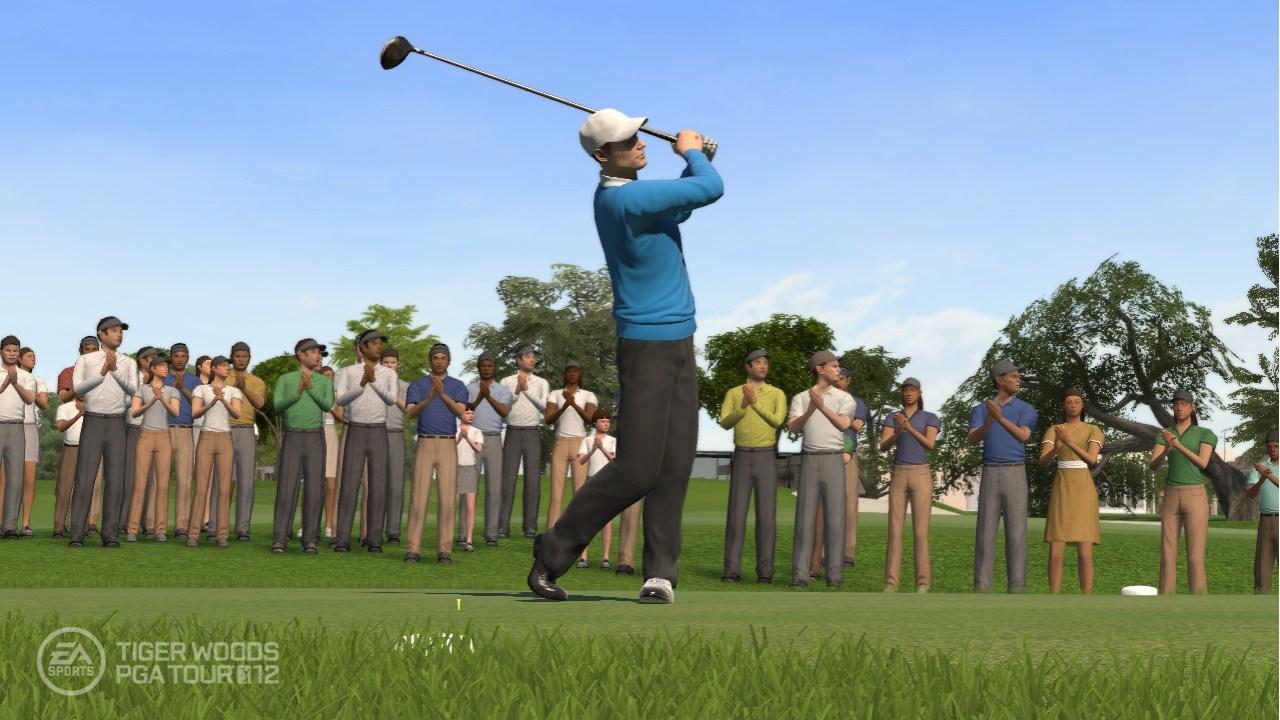 Tiger Woods PGA TOUR 12 - Screenshot per il lancio