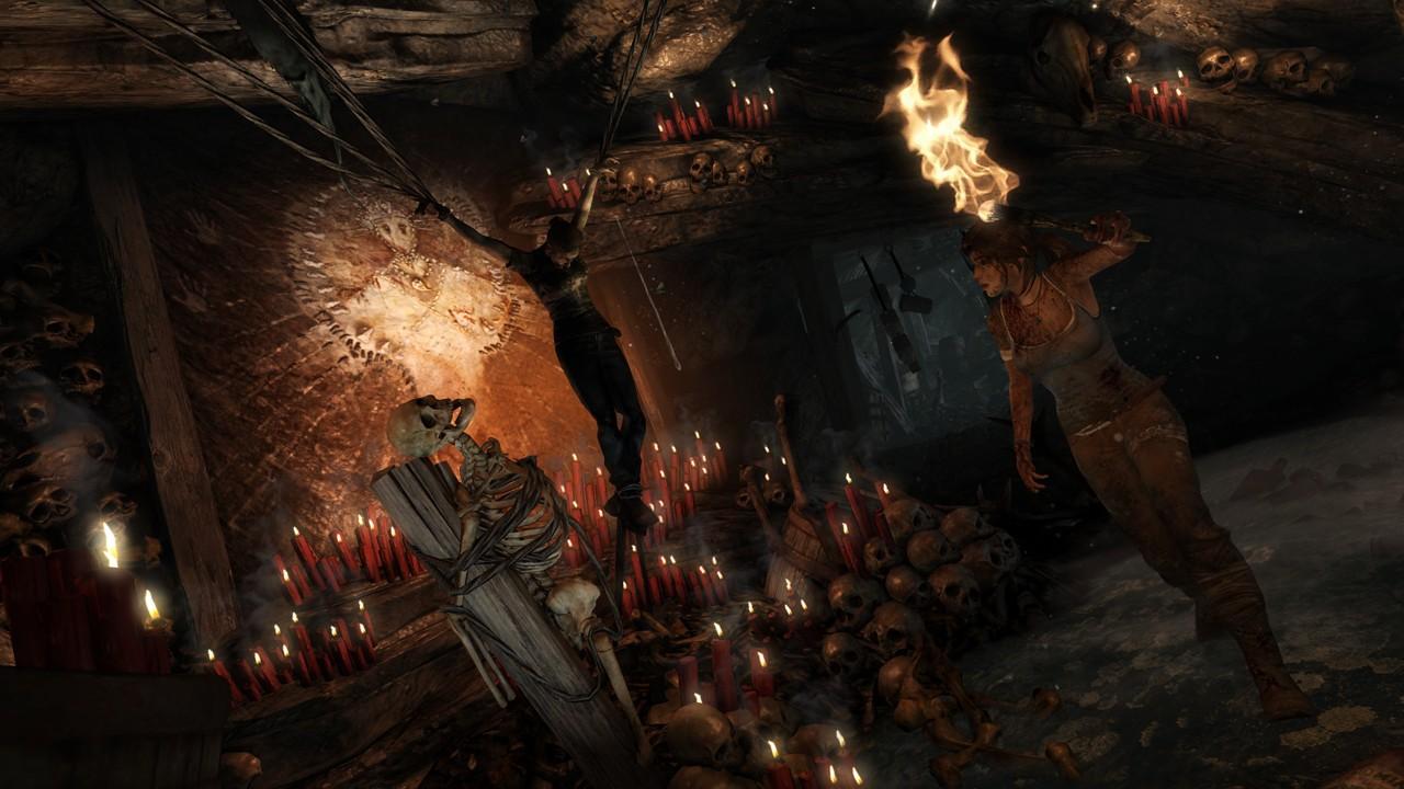 Tomb Raider - Primi screenshot