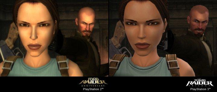 Tomb Raider Trilogy - Confronto tra le versioni PS2 e PS3