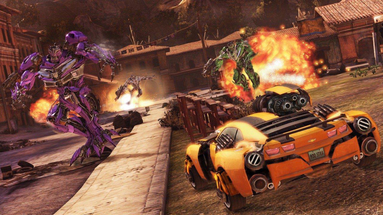 Transformers: Dark of the Moon - Gameplay