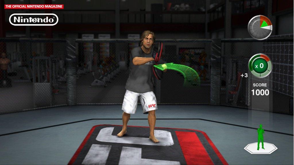 UFC Trainer - Screenshot Wii