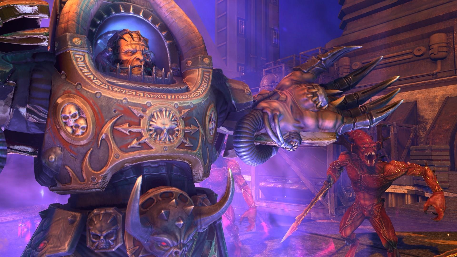 Warhammer 40.000: Space Marine - Gameplay