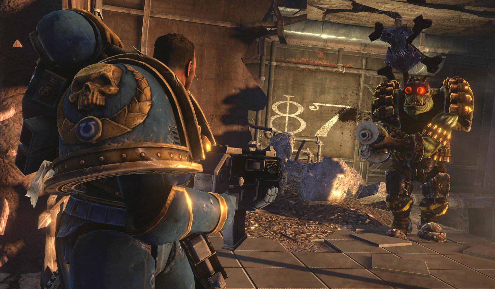 Warhammer 40.000: Space Marine - Scontri