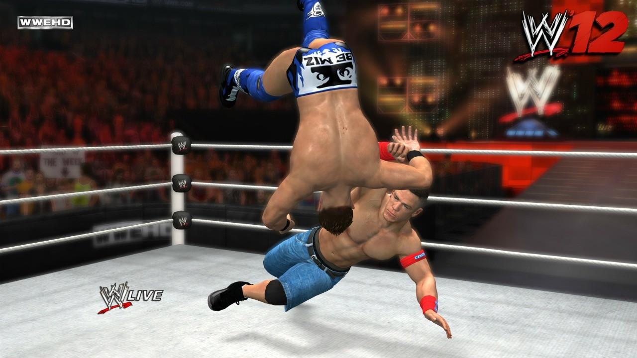 WWE 12 - Primi screenshot