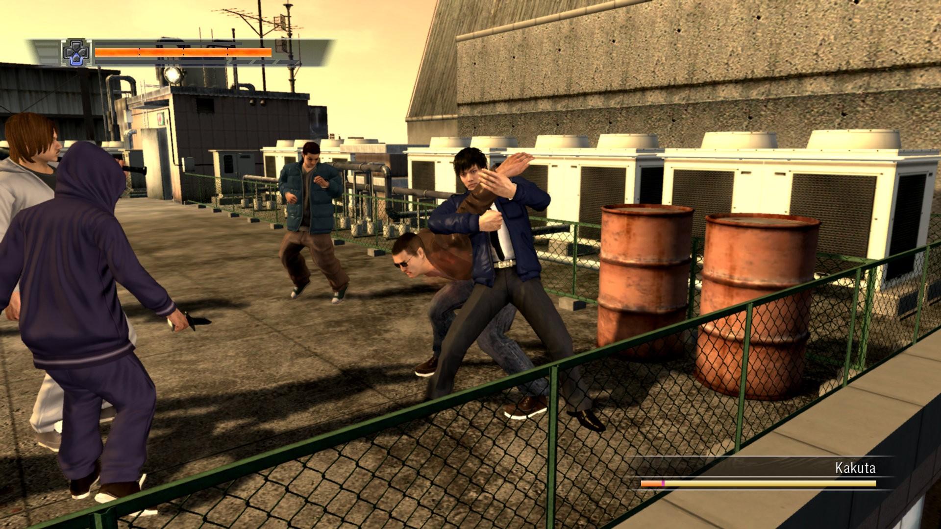 Yakuza 4: Heir to the Legend - Relax e combattimenti