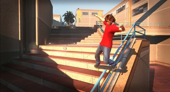 Tony Hawk Pro Skater HD - Screenshot