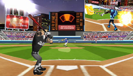 Baseball Slugger: Home Run Race 3D