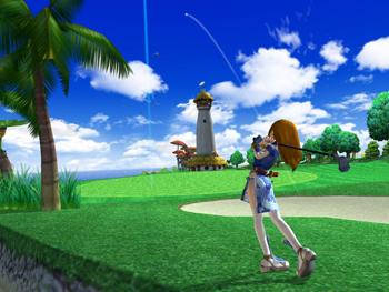 Fantasy Golf Pangya Portable