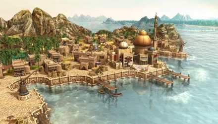 Anno Dawn of Discovery: The Harbor