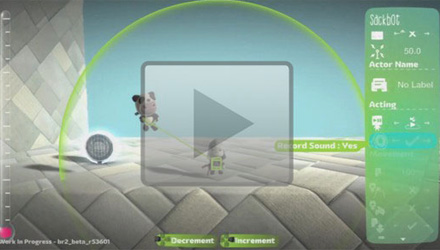 Arriva la registrazione vocale in LittleBigPlanet 2