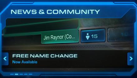 Cambiare nome in StarCraft II gratuitamente è possibile, ma una sola volta