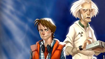 Con il Blu-ray di Ritorno al Futuro, il primo capitolo del gioco Telltale Games