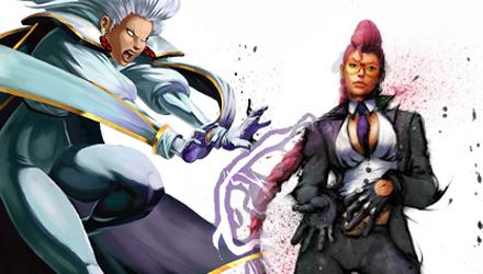 Crimson Viper e Storm in Marvel vs. Capcom 3: Fate of Two Worlds