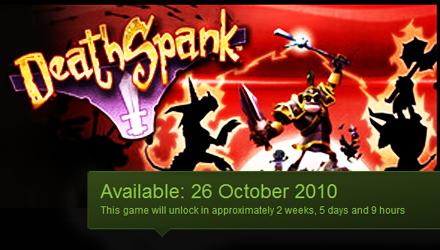 DeathSpank approda su PC il 26 ottobre