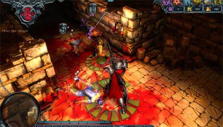 Dungeons: editor di livelli e una modalità infinita per lo strategico