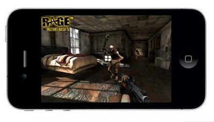 id Software arriva su iPhone con RAGE: Mutant Bash TV