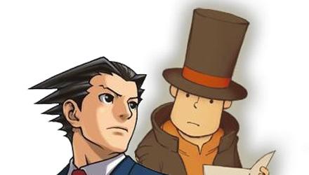 Il Professor Layton e Phoenix Wright insieme in un nuovo gioco