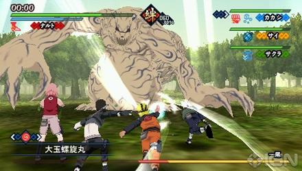 Namco Bandai annuncia Naruto Shippuden: Kizuna Drive per PSP