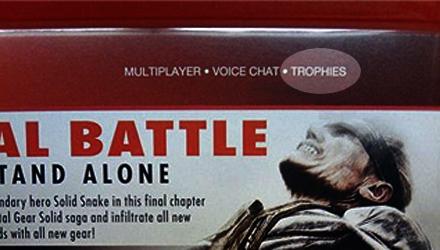 Niente trofei in Metal Gear Solid 4: Guns of the Patriots
