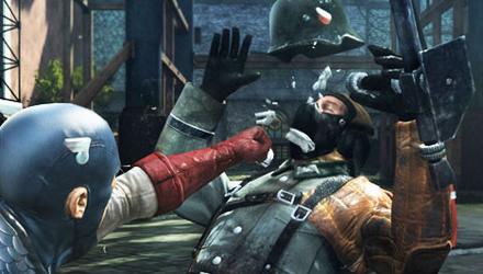 Novità e differenze per Captain America: Super Soldier su Wii