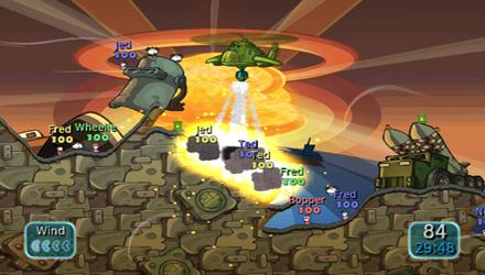 Nuovi dettagli e data d'uscita per Worms: Battle Island
