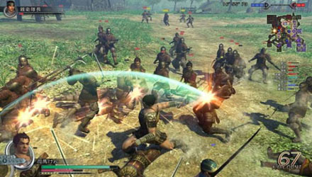 Parte la fase beta di Dynasty Warriors Online