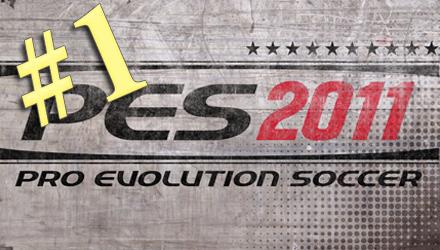 PES 2011 di nuovo in testa alle classifiche di vendita italiane