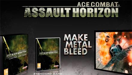 Ace Combat: Assault Horizon, ufficializzata la Limited Edition