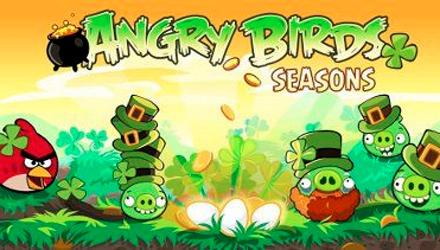 Angry Birds si rinnova per San Patrizio e continua a macinare record