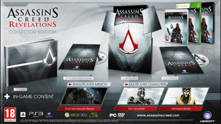 Assassin's Creed: Revelation,: svelati i contenuti delle edizioni speciali