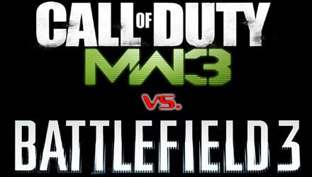 Confronto Call of Duty Modern Warfare 3 vs. Battlefield 3