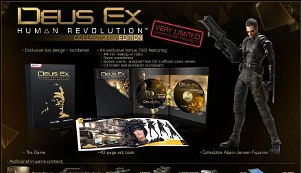 Deus Ex: Human Revolution, arriva la Collector's Edition