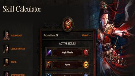 Diablo III, disponibile online lo Skill Calculator