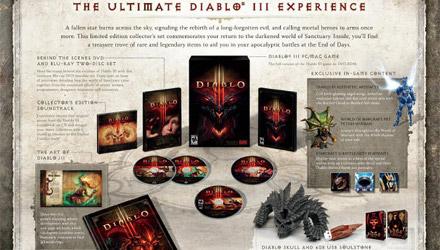 Diablo III: tutti i dettagli sulla Collector's Edition