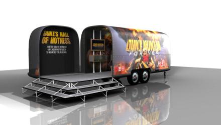 Duke Nukem Forever: tour in Italia, edizione PC con scheda video GeForce
