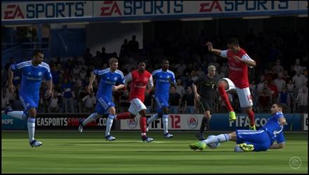 FIFA 12, filmato il gameplay su PS Vita