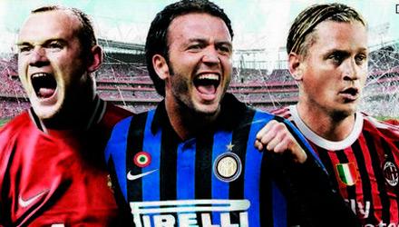 FIFA 12: svelata la copertina italiana con Pazzini, Mexes e Rooney