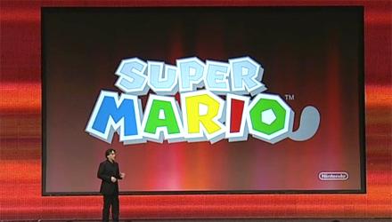 GDC 2011: Nintendo annuncia Super Mario 3DS