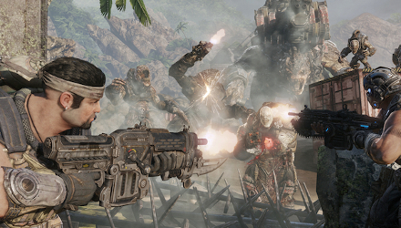 Gears of War 3: dettagli sulla modalità Orda, immagini e video