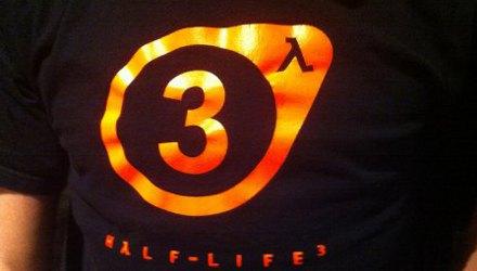 Il logo di Half-Life 3 su una t-shirt?