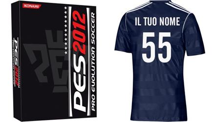 PES 2012: Edizione Soccer Deluxe, con maglietta personalizzata