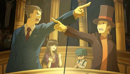 Professor Layton vs Ace Attorney, informazioni da Level 5 e Capcom