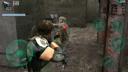 Resident Evil Mercenaries VS. su iPhone, iPod touch e iPad
