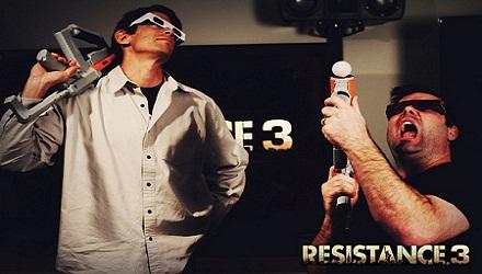 Resistance 3: confermato il supporto a Move, 3D e Sharp Shooter