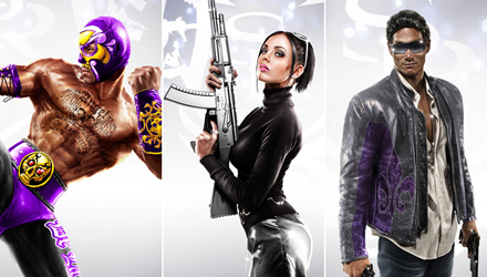 Sasha Grey, Hulk Hogan e Daniel De Kim in Saints Row: The Third