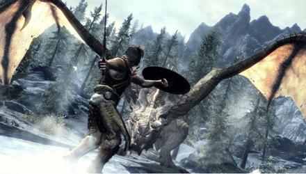 The Elder Scrolls V: Skyrim,  nuovo filmato di gameplay dal Comi-Con