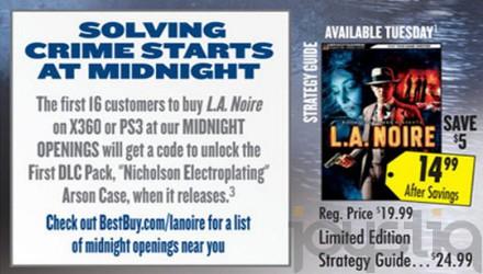 Un DLC per L.A. Noire: lo svela Best Buy
